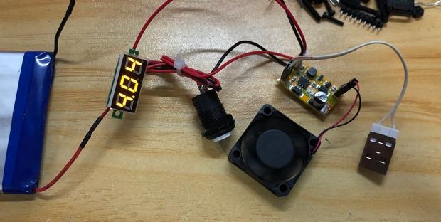 AAA 定做摇杆2 无线版本 测试供电部分 电压监视.JPG